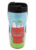 【卡漫城】 Snoopy 隨行杯 狗屋 ㊣版 糊塗塔客 史奴比 史努比 隨手 隨身 隔熱水杯 台灣製 380cc