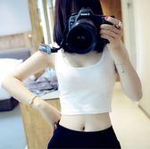 吊帶背心女(2色 )夏短款百搭小背心外穿無袖t恤內搭SX1191
