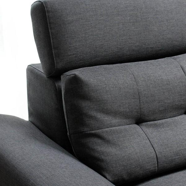 Hermes艾瑪仕高背機能L型沙發/台灣製造(CCW/艾瑪仕L型沙發)【DD House】