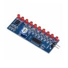 NE555 流水燈 CD4017 流水電子散件 製作套件 [電世界2000-526]