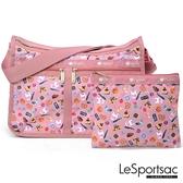 LeSportsac - Standard雙口袋A4大書包-附化妝包 (城市日常) 7507P F688