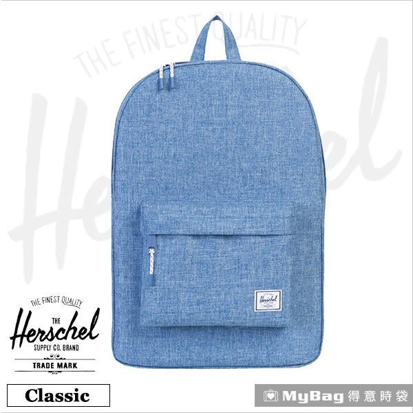 Herschel 後背包 單寧藍  經典後背包 Classic-918 MyBag得意時袋