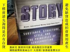 二手書博民逛書店Story:罕見Substance, Structure, Style and the Principles of