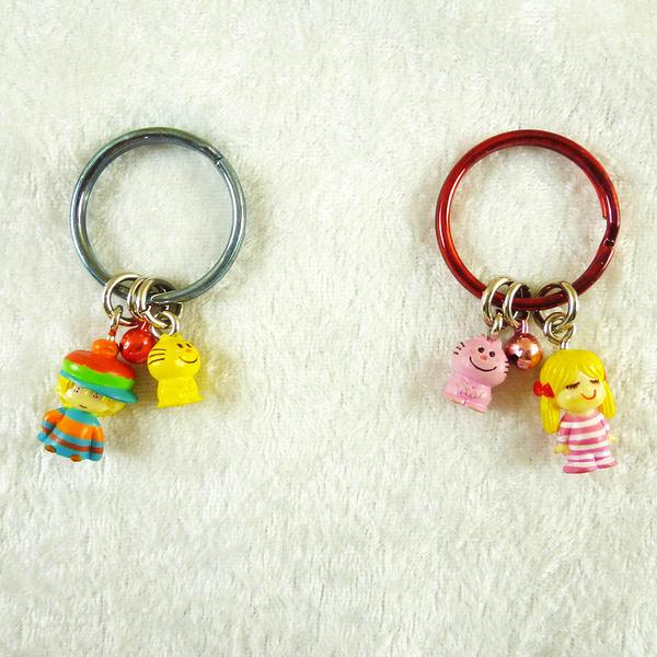 【震撼精品百貨】Ado mizumori 艾蒂~鑰匙圈  貓/女孩【共2款】