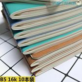 韓國筆記本加厚小清新簡約便攜