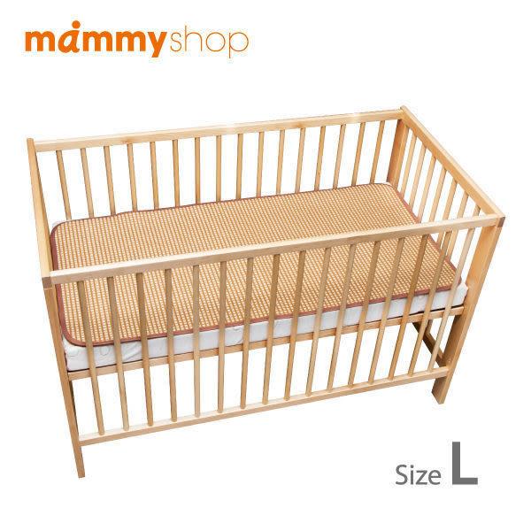 媽咪小站 3D天然纖維柔藤墊-嬰兒大床-66x118cm- L尺寸專用