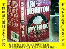 二手書博民逛書店SPY罕見HOOK LEN DEIGHTONY17220