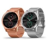 Garmin vivomove luxe 指針智慧腕錶(米蘭式錶帶)