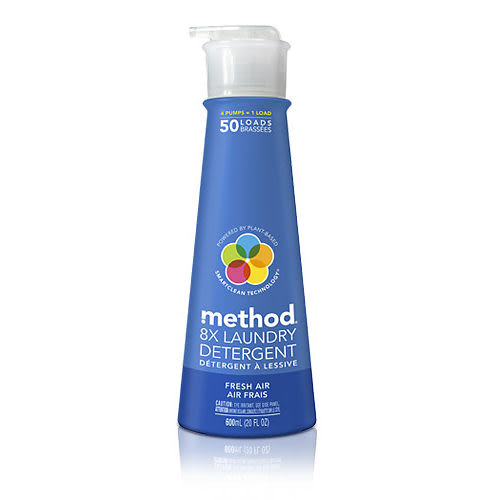 【Method 美則】八倍濃縮智慧環保洗衣精-清新(600ml)~梅莉.史翠普專文推薦