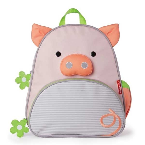 美國SKIP HOP 可愛動物園小童背包_小豬