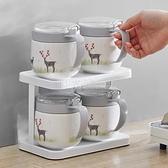 調料罐子廚房陶瓷調味瓶組合套裝大容量鹽糖味精罐家用調料盒鹽罐 陽光好物