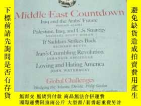 二手書博民逛書店FOREIGN罕見AFFAIRS: Middle East Co