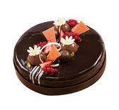【上城蛋糕】宅配蛋糕-法芙娜經典8吋-層層巧克力風味,生日蛋糕,巧克力蛋糕,戚風蛋糕