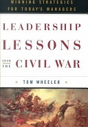 二手書《Leadership Lessons from the Civil War: Winning Strategies for Today s Managers》 R2Y ISBN:0385495188