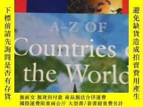 二手書博民逛書店Oxford罕見A-Z of countries of the