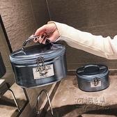大容量化妝包ins網紅多功能層化妝品收納包小號便攜手提女化妝箱 雙十二全館免運