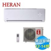 禾聯 HERAN CSPF 頂級旗艦型單冷變頻一對一分離式冷氣 HI-N801 / HO-N801