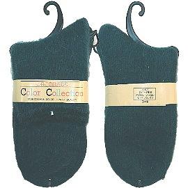 【波克貓哈日網】日本製保暖襪◇COLOR◇《綠色》