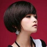 假髮(短髮)-時尚帥氣個性斜瀏海女假髮3色73fi10[時尚巴黎]