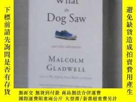 二手書博民逛書店英文原版罕見What the Dog Saw: And Othe