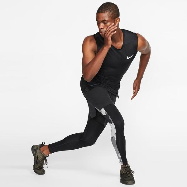【現貨】NIKE PRO 男裝 背心 慢跑 緊身 排汗 速乾 透氣 黑 【運動世界】BV5601-010