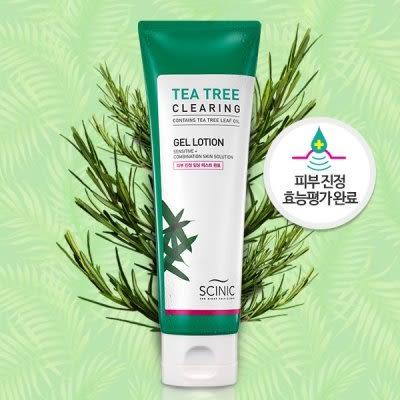 SCINIC 茶樹保濕爽膚乳120ml