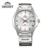 ORIENT 東方錶 SP 系列 日期顯示運動石英錶 鋼帶款 FUNE4004W 白色 - 42mm