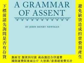 二手書博民逛書店An罕見Essay In Aid Of A Grammar Of