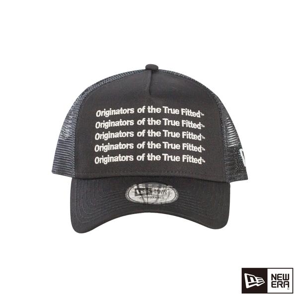NEW ERA 9FORTY 940AF 卡車帽 REPEAT ORIGINATORS 黑/黑 網帽