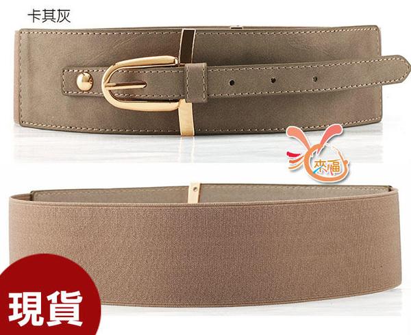 依芝鎂-H852腰封美風造型扣頭腰帶皮帶腰封,售價280元