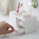 簡約 小抽屜 收納盒 儲物盒 梳妝盒 分隔 分層 分類 化妝品 文具 飾品 項鍊 戒指 『無名』 P11118