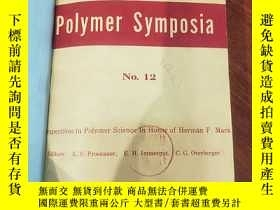 二手書博民逛書店JOURNAL罕見OF POLYMER SCIENCE PART C POLYMER SYMPOSIA 12-14