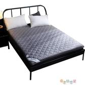 單人床墊 加厚床墊床褥1.5m床1.8米軟墊雙人褥子學生宿舍海綿地鋪睡墊被【快速出貨】