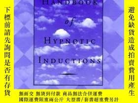 二手書博民逛書店Handbook罕見Of Hypnotic Inductions