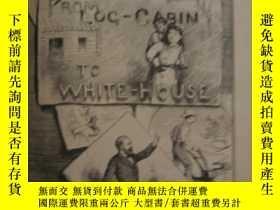 二手書博民逛書店罕見古籍本《美國總統加菲爾德從木屋到白宮的生活》黑白版畫,188