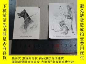 二手書博民逛書店【百罕見】1895年木刻版畫肖像正面《 peter schwarze rude》(彼得)《der maharaja
