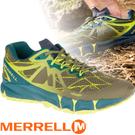 【MERRELL 美國 男款 AGILITY PEAK FLEX 慢跑鞋 〈深橄欖綠〉】ML37709/休閒鞋/慢跑鞋/運動鞋