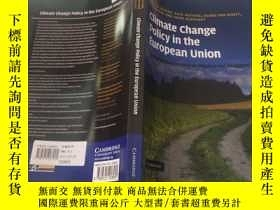 二手書博民逛書店Climate罕見Change Policy in the Eu