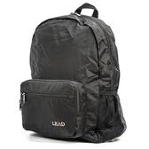 aaronation-BAIHO系列摺收後背包-URA-LD8856黑黑色