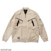 MIZUNO 男裝 外套 套裝 休閒 1906 平織 多口袋 縮口 卡其【運動世界】D2TC057249