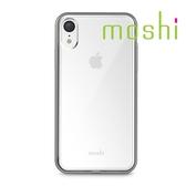 {原廠公司貨}Moshi Vitros iPhone XR 超薄透亮保護外殼-銀白