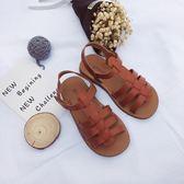 可愛2018夏季新款中小女童鏤空羅馬涼鞋寶寶正韓沙灘公主鞋