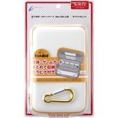 NEW2DSLL/3DSLL用日本Cyber 輕量化EVA 主機硬殼包 可裝主機殼可收納卡帶 白橙色【玩樂小熊】