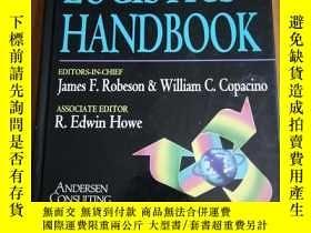 二手書博民逛書店the罕見Logistics Handbook 物流手冊(精裝)