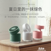 新款usb風扇 桌面噴霧加濕風扇 可充電迷你辦公折疊小風扇(快速出貨)