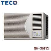 【TECO東元】6-8坪定頻右吹窗型冷氣MW36FR1