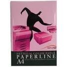 PAPERLINE  175  A4 粉紅  80P 影印紙  (5包/箱)