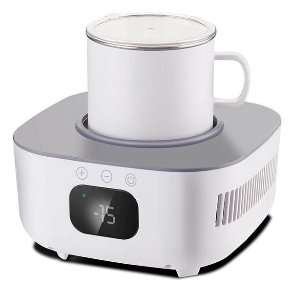 220V夏新快速制冷杯墊飲料速冷冰鎮降溫便攜家用宿舍辦公室冷熱墊神器