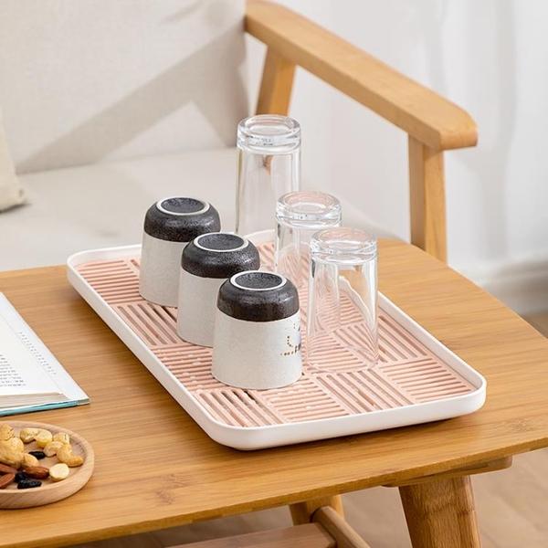 家用杯架瀝水架茶杯茶具玻璃杯收納盒置物架晾杯架【福喜行】