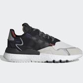 ADIDAS ORIGINALS NITE JOGGER 男鞋 慢跑 休閒 反光 3M 黑紅【運動世界】 EF9419